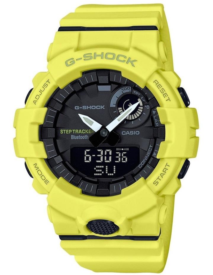 Step Tracker Yellow Watch GBA800-9A image 1