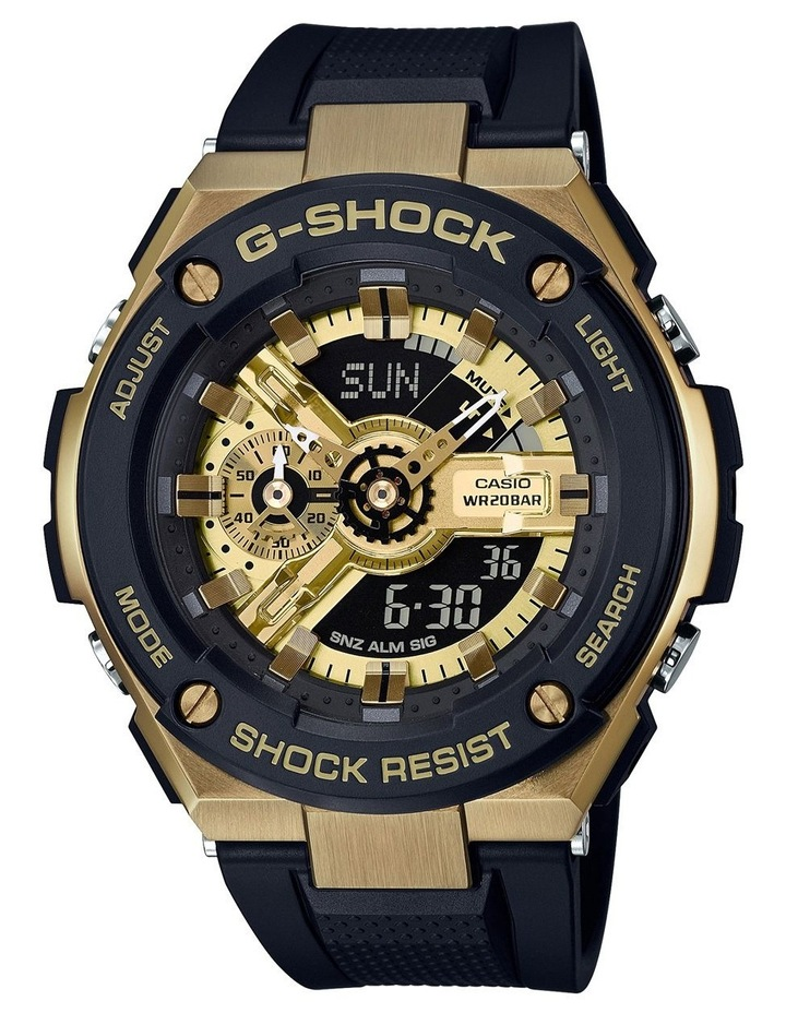 Steel Duo Black and Gold Watch GST400G-1A9 G image 1