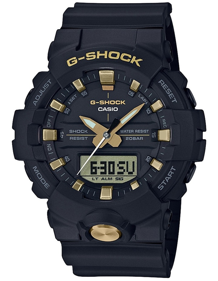 Black and Gold Watch GA810B-1A9 image 1