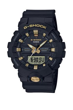 Casio - Black and Gold Watch GA810B-1A9