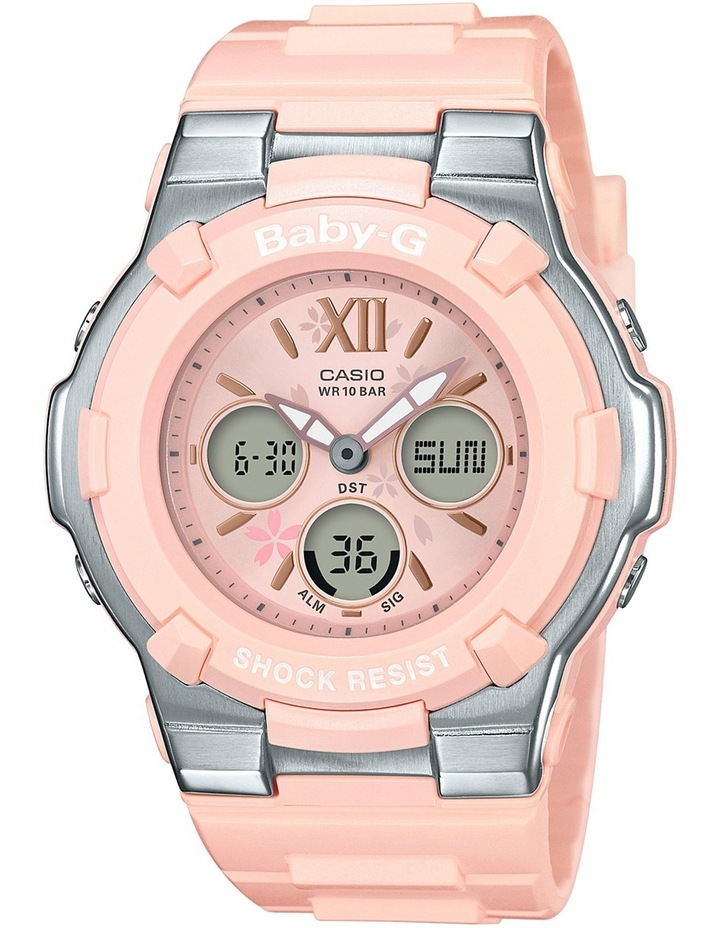 Summer Bloom Series White and Pink Watch BGA110L-4B image 1