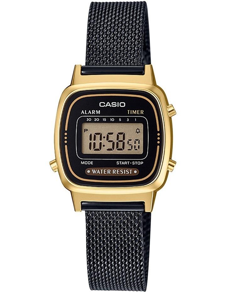 Ladies Vintage Series Black Watch image 1