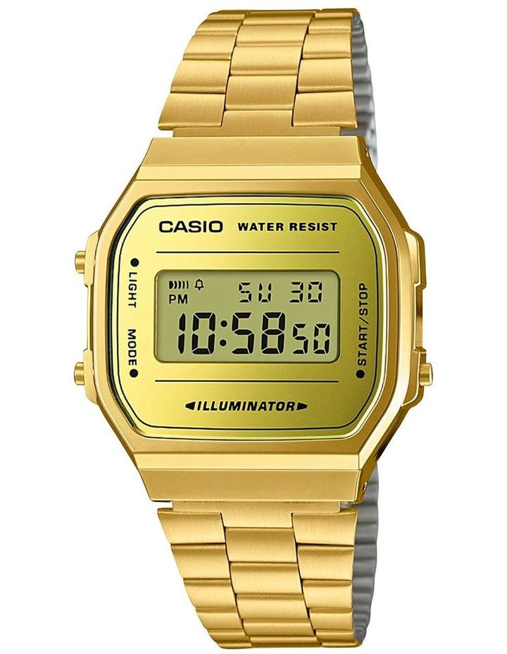 Vintage Digital Gold Watch image 1