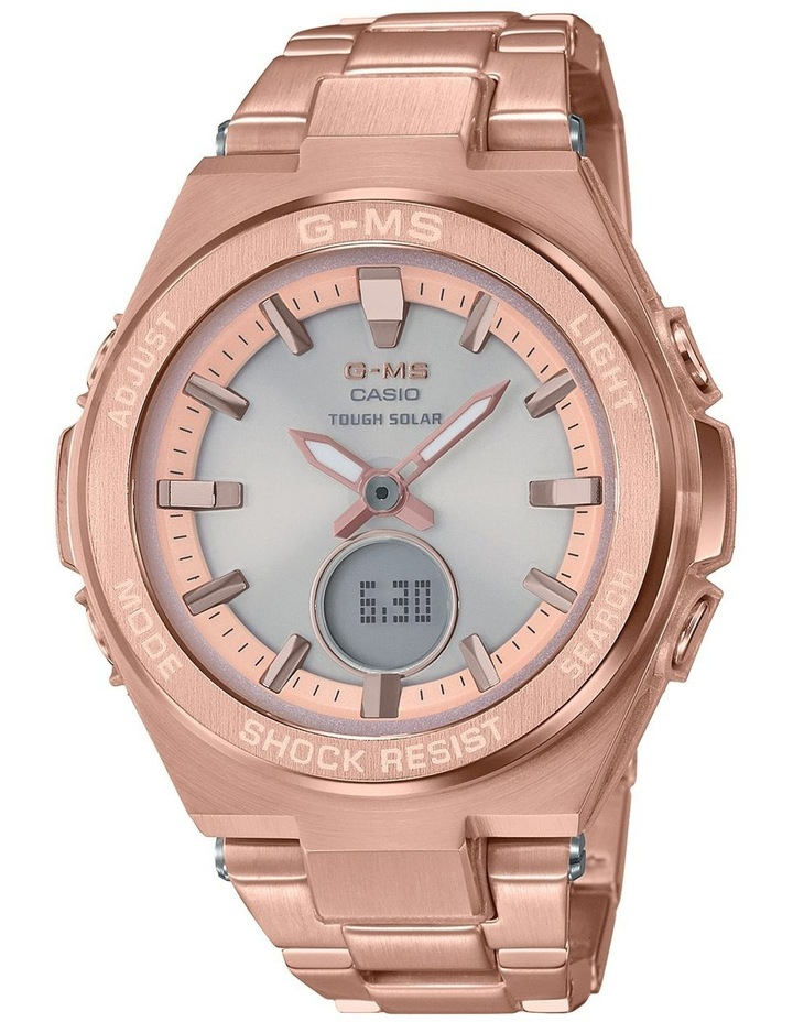 MSGS200DG-4A G-MS Stainless Steel and Rose Gold Watch image 1