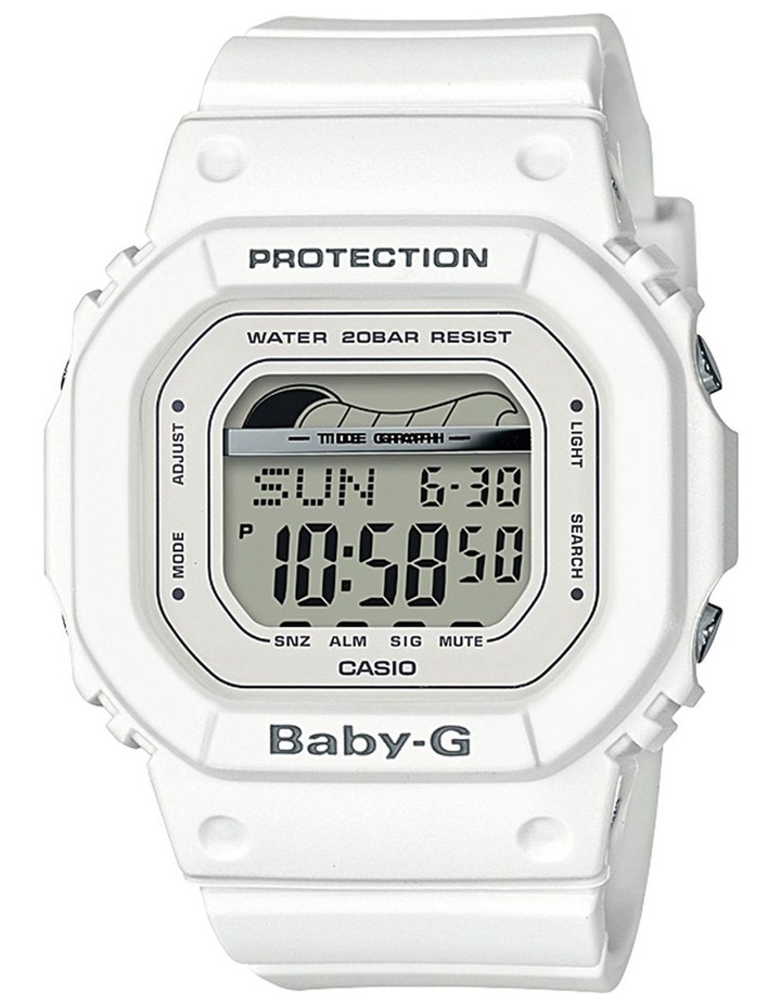 Digital Retro Surf White Watch BLX560-7D image 1