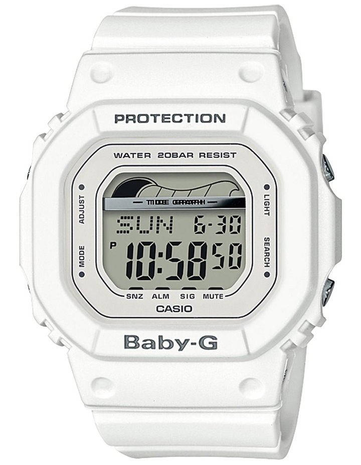 Digital Retro Surf White Watch BLX560-7D image 2