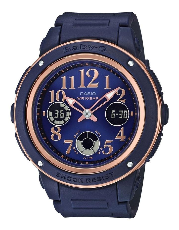 Elegant Series Navy And Rose Gold Watch BGA150PG-2B2 image 1