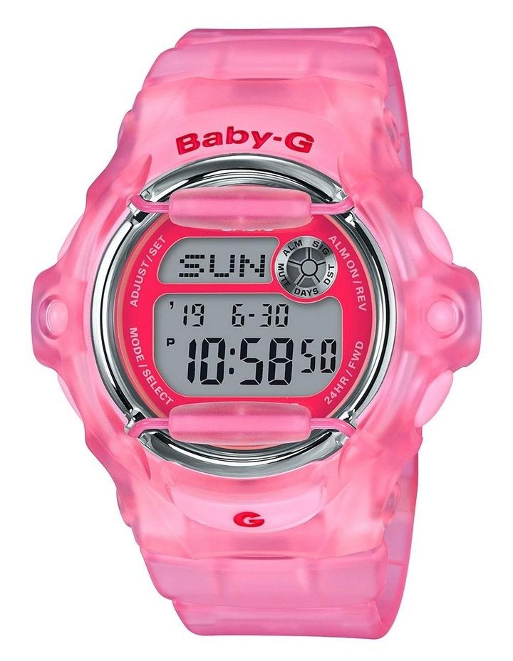 Digital 90's Culture Theme Pink Watch BG169R-4E image 1