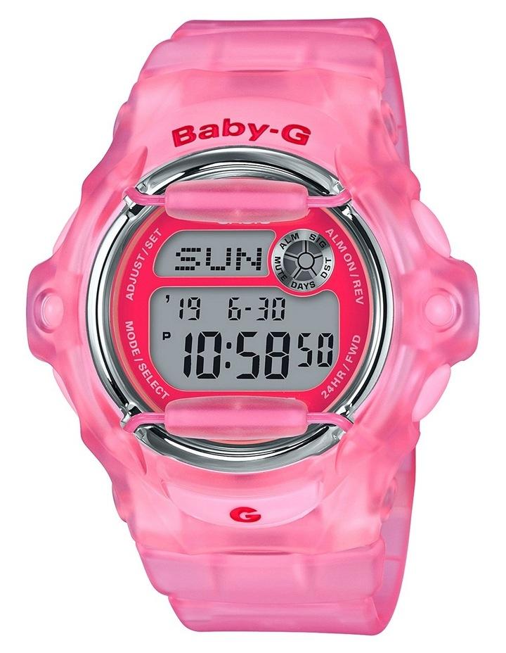 Digital 90's Culture Theme Pink Watch BG169R-4E image 2