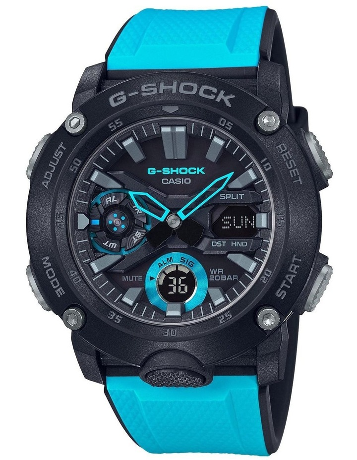 G-Shock GA2000 Carbon Core Series With Interchangable Band image 1