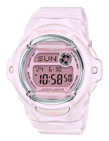 d9f7705fb02 CasioBaby-G BG169M-4D Matte Pink Retro Digital