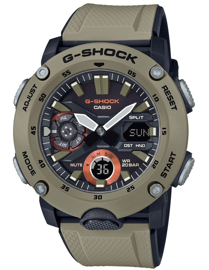 G-Shock GA2000-5A Carbon Core Series with Interchangable Band image 1