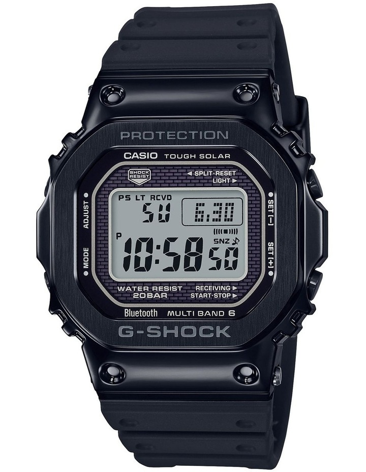 G-Shock GMWB5000G-1D Metal 5600 with Resin Strap and Bluetooth image 1