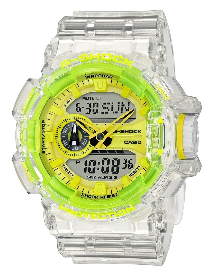 G-Shock GA400SK-1A9 Skeleton Series with Yellow Accent image 1