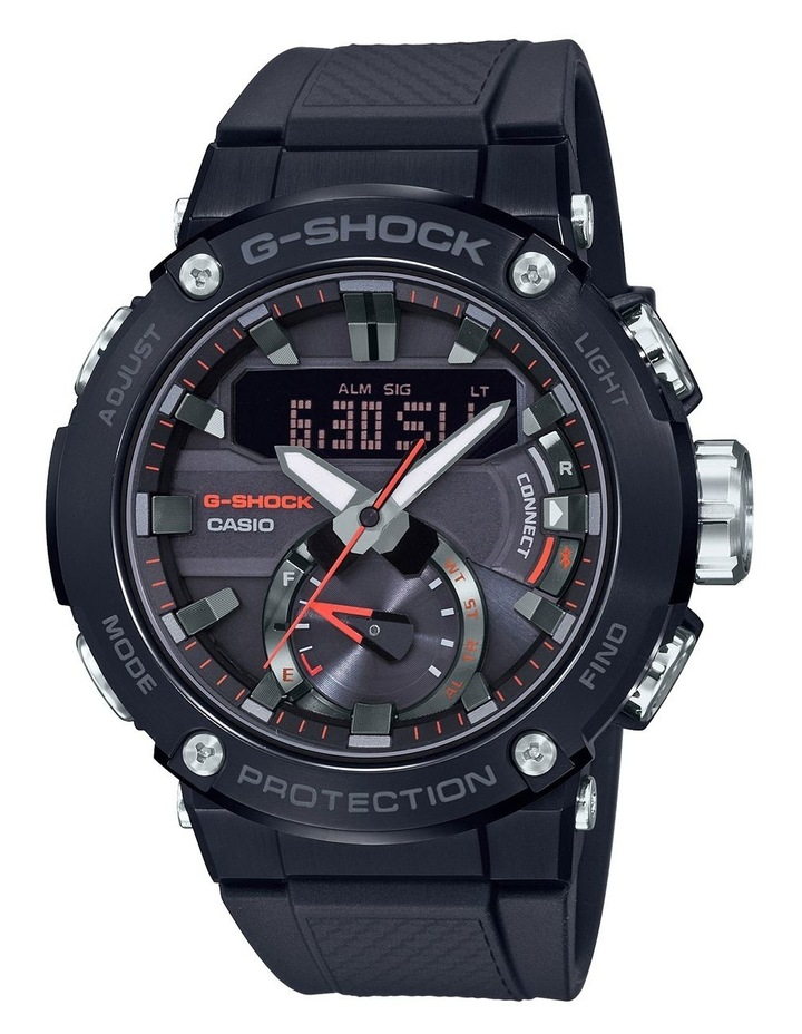 G-Shock G Steel GSTB200B-1A Carbon Core with Interchanging Band & Bluetooth image 1