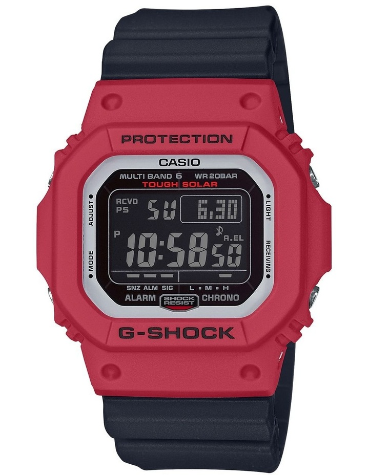 G-Shock GWM5610RB-4D Black Red Series Bluetooth Connected image 1
