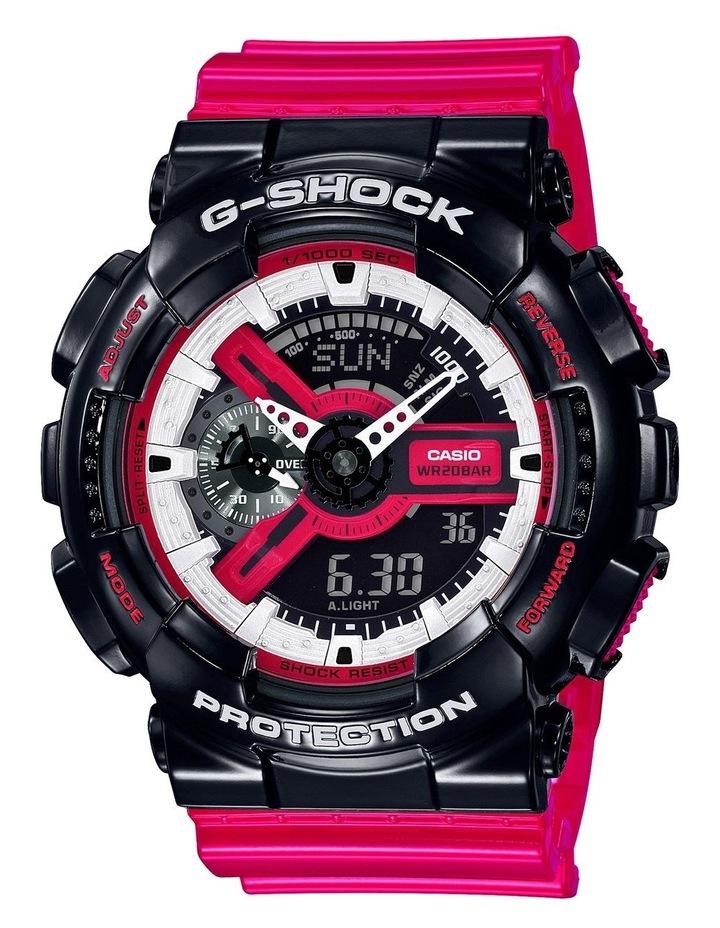 G-Shock GA110RB-1A Black Red Series image 1