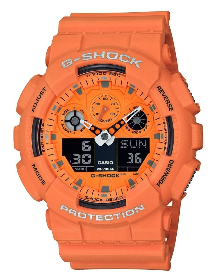 G-Shock GA100RS-4A Hot Rock Sounds Series image 1