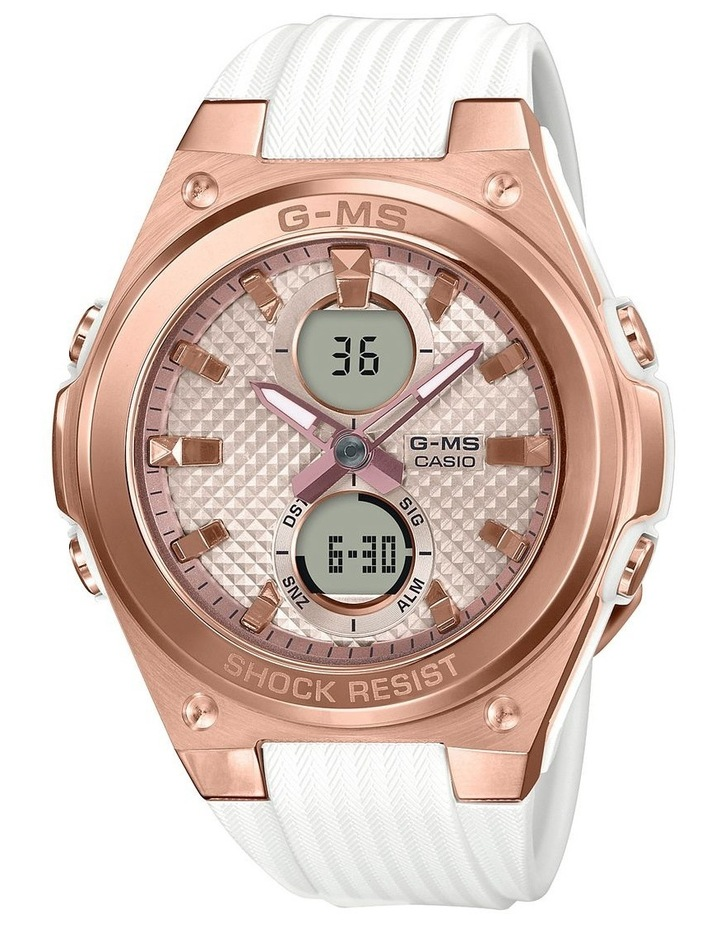Baby-G MSGC100G-7A G-MS Stainless Steel with Resin Strap image 1