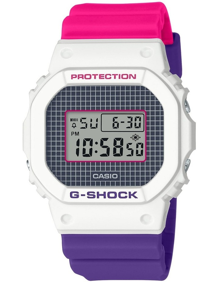 90's Throwback Series DW5600THB Digital Watch image 1
