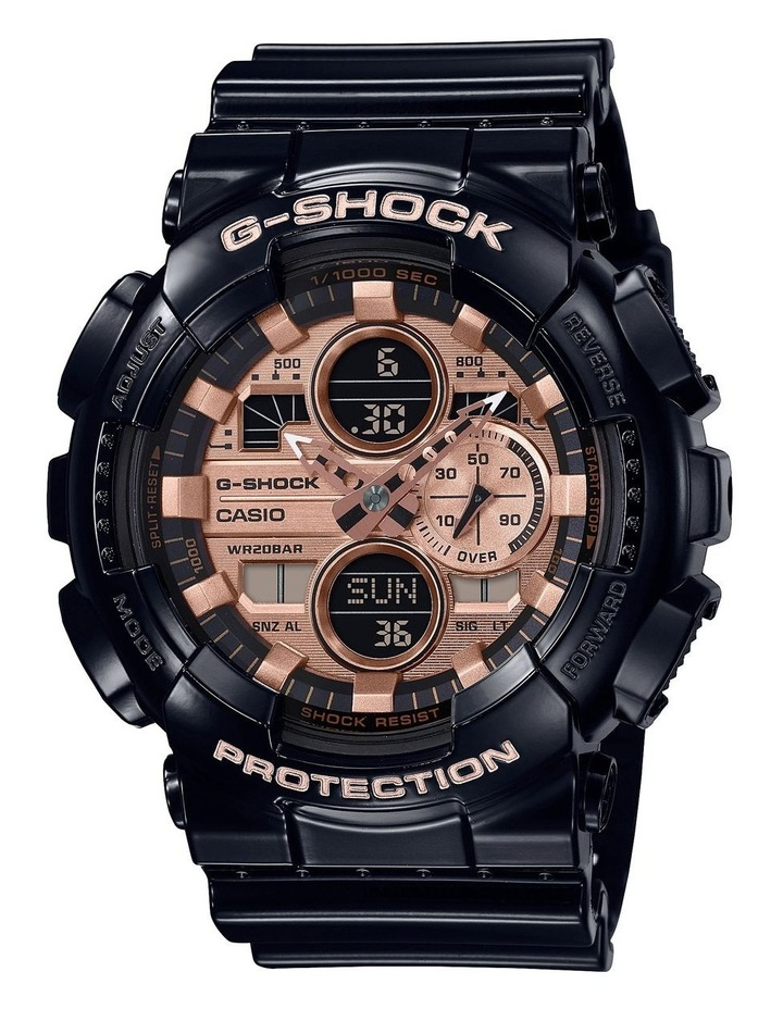 GA140-1A2 Duo With World Time, Alarm, Stop Watch And 200m Water Resist image 1