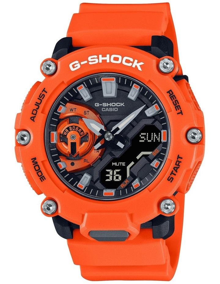 G Shock Ga2200M-4A Carbon Core Guard Orange Watch image 1