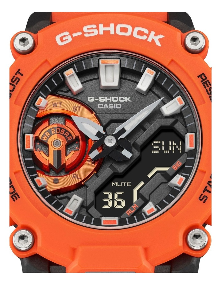 G Shock Ga2200M-4A Carbon Core Guard Orange Watch image 2