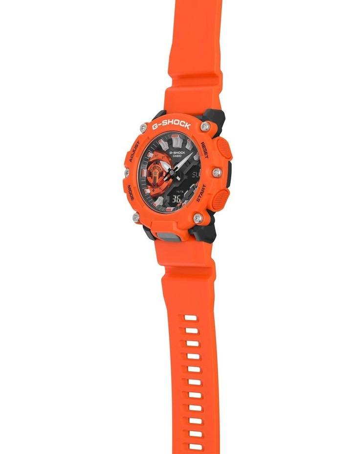 G Shock Ga2200M-4A Carbon Core Guard Orange Watch image 3