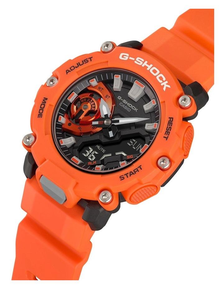 G Shock Ga2200M-4A Carbon Core Guard Orange Watch image 4