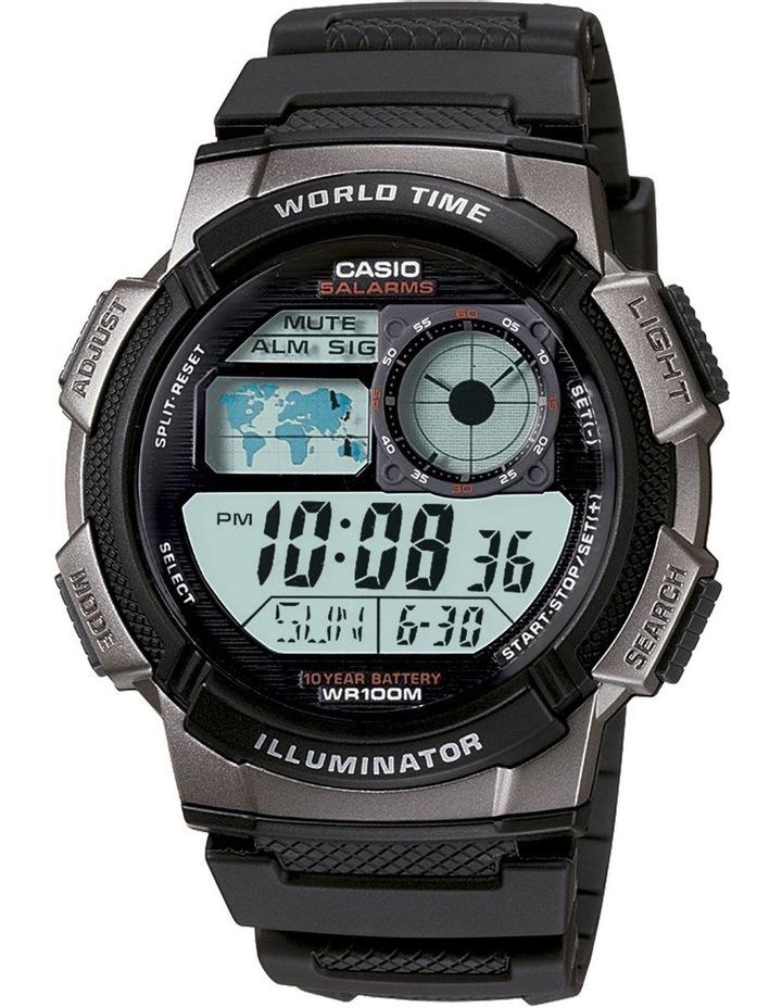 Digital AE1000W-1B Watch image 1
