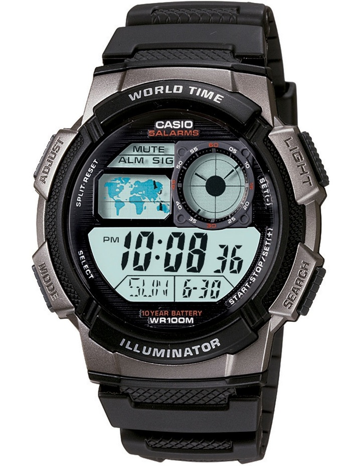 Digital AE1000W-1B Watch image 1