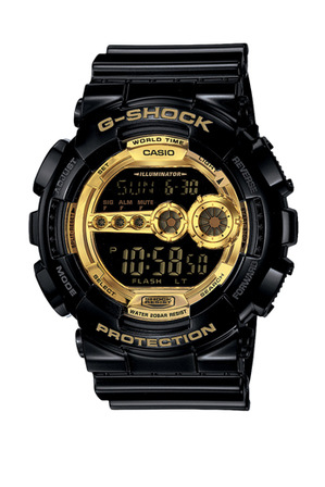 Casio Black Watch GD100GB-1 | Tuggl