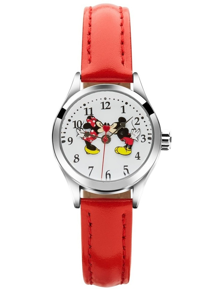 Petite Mickey & Minnie in Love Red Watch image 1