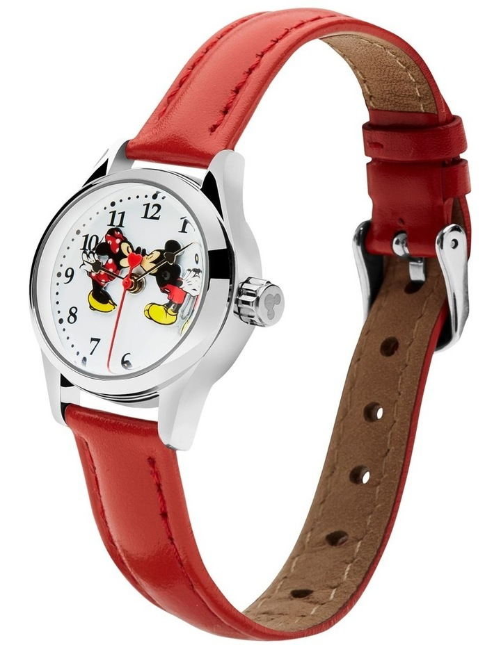 Petite Mickey & Minnie in Love Red Watch image 2