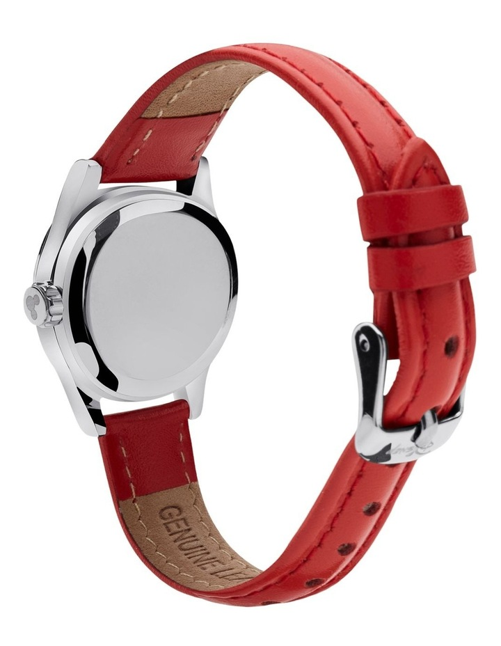 Petite Mickey & Minnie in Love Red Watch image 4