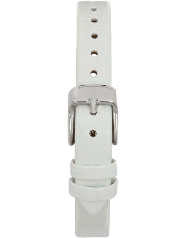 TS4S02L4 Silver Case White Strap Watch image 2