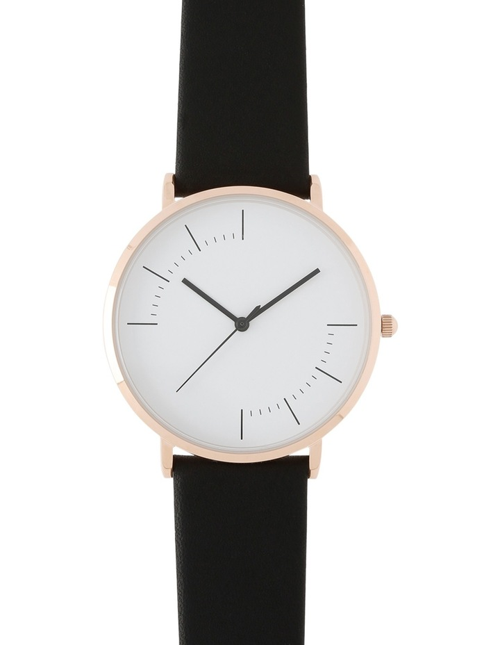 Trent Nathan A160162-A2-1 Unisex Leather Band Watch image 1
