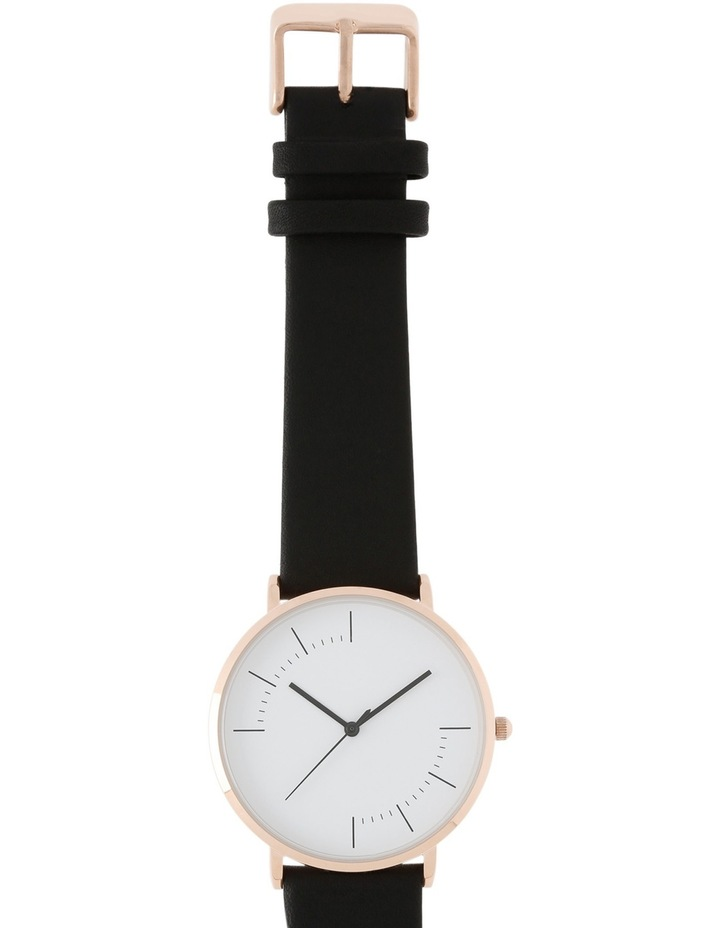 Trent Nathan A160162-A2-1 Unisex Leather Band Watch image 2