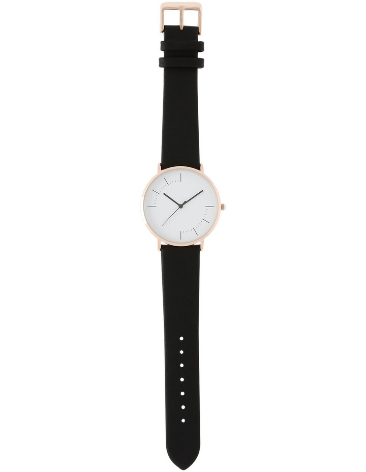 Trent Nathan A160162-A2-1 Unisex Leather Band Watch image 3