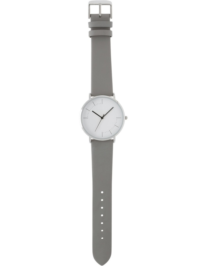 Trent Nathan A160162-A2-2 Unisex Leather Band Watch image 3