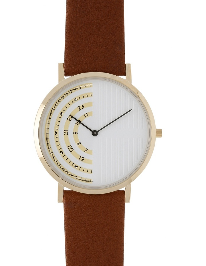 Trent Nathan 161061-A2-2 Male Leather Band Watch image 1