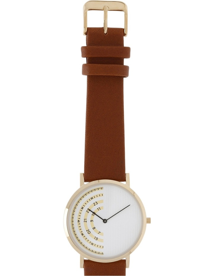 Trent Nathan 161061-A2-2 Male Leather Band Watch image 2
