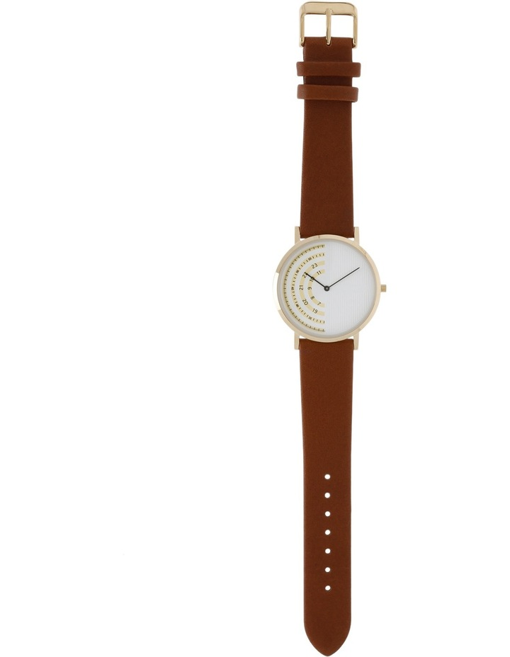 Trent Nathan 161061-A2-2 Male Leather Band Watch image 3