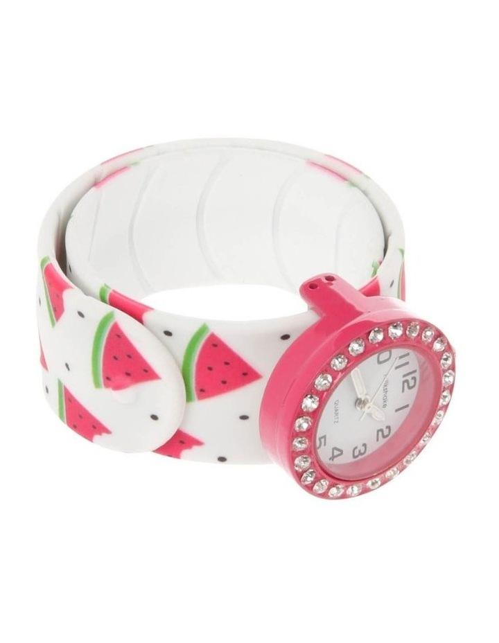 Watermelon Slap Band Boxed Watch image 3