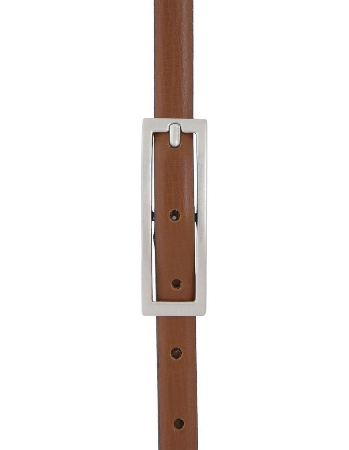 15Mm Skinny Leather  Belt image 1