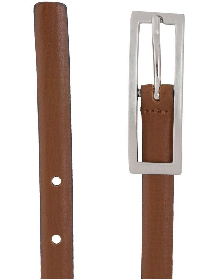 15Mm Skinny Leather  Belt image 2