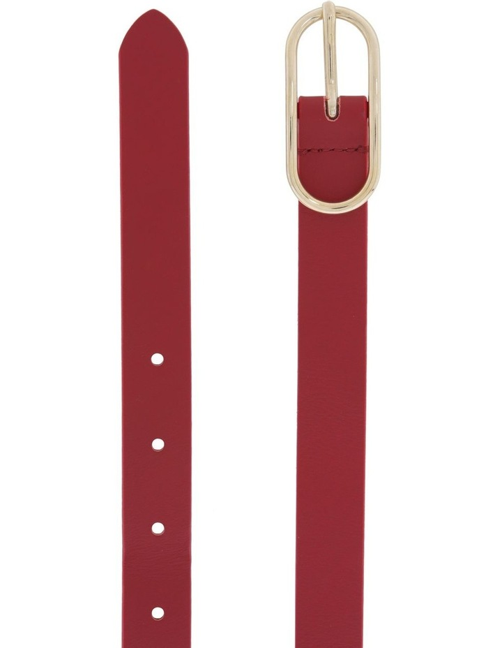 Oval Buckle Belt image 2