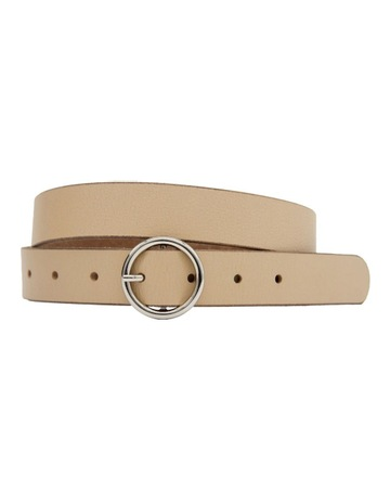 324c0c23228 Trent Nathan Skinny Circle Polished Belt