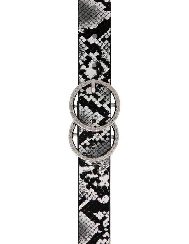 Snake Belt With Textured Ring Belt image 1