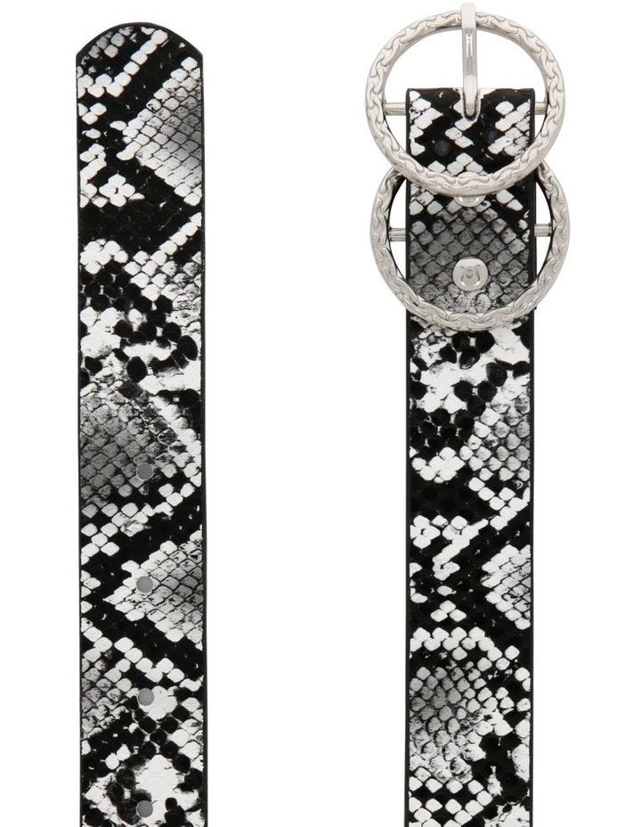 Snake Belt With Textured Ring Belt image 2